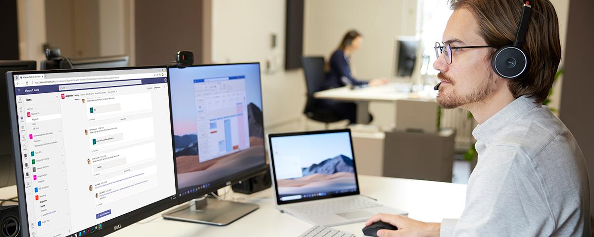 Microsoft Teams - zentrale Produktivitätsplattform